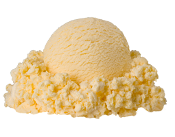 ice cream melting